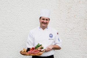 Chef William Thomson at Barony Castle