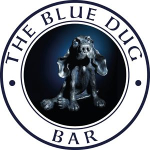 Logo for the Blue Dug Bar