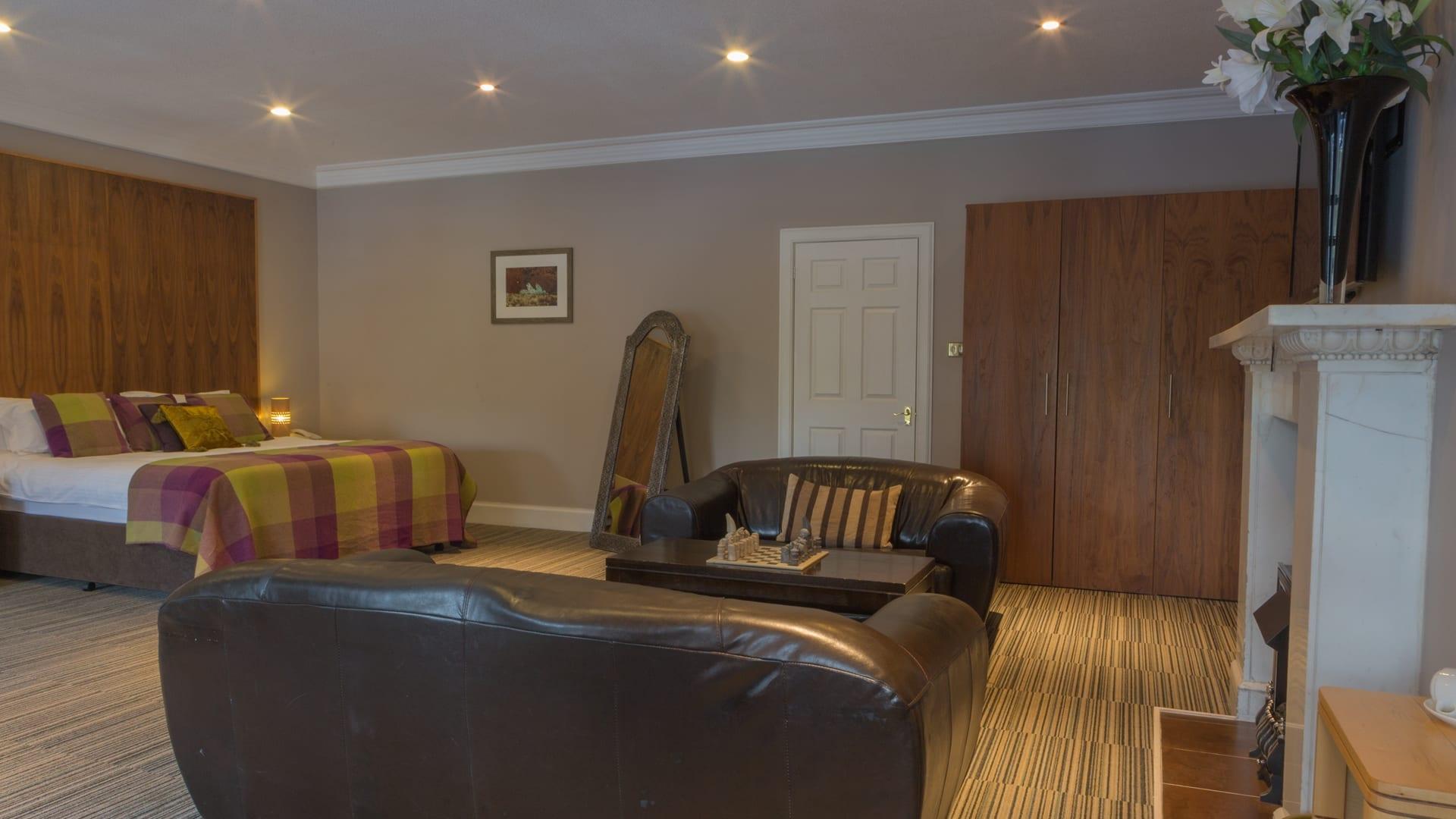The Eddleston Suite at Barony Castle