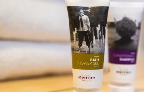Complimentary toiletries at Barony Castle