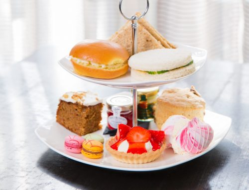 Win Afternoon Tea for 4 with a glass of fizz at Barony Castle
