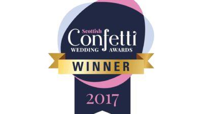 Confetti Wedding Awards Winner 2017