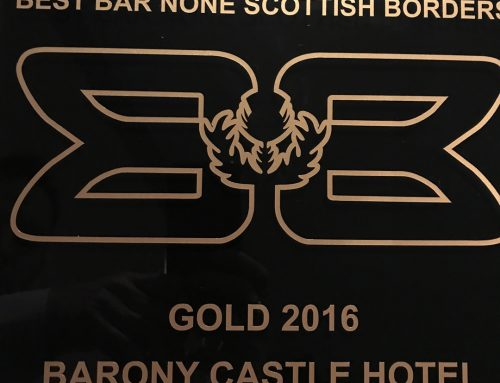 Barony wins Gold in 'Best Bar None' award for Scottish Borders