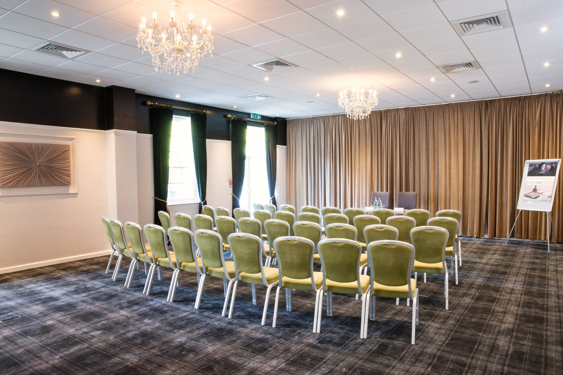 meeting rooms and event spaces at barony castle hotel