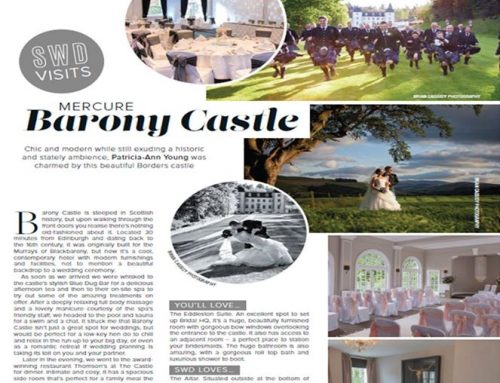 SWD Visits Mercure Barony Castle