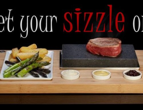 "Your steak, how you want it.. new ""Steak on the Stone"" launches"