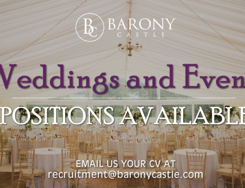 Weddings & Events Positions Available