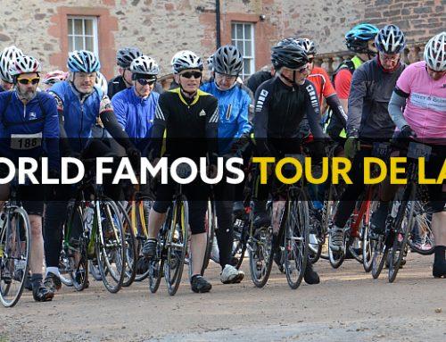 Cyclists gear up for the Tour de Lauder on Saturday 21st April
