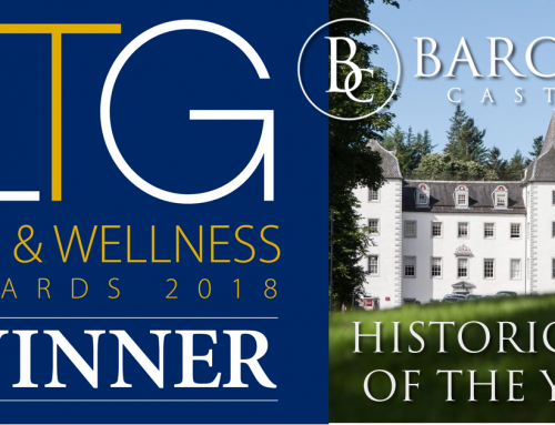 Barony Castle wins Historic Spa of the Year in the LTG Awards