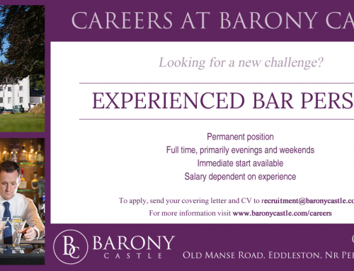 Experienced Bar Person