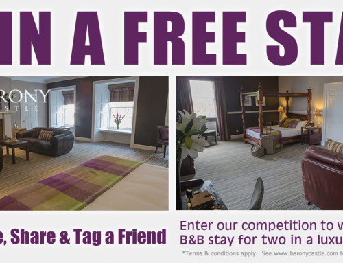 LIKE us on Facebook for a chance to win a FREE B&B stay