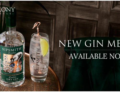 New gin menu available now